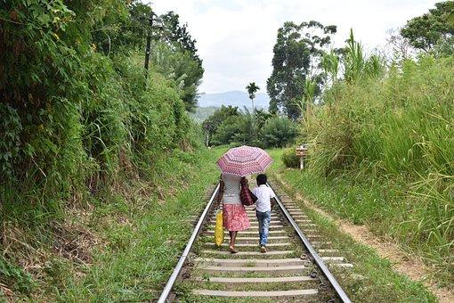 Ella, Sri Lanka, Asia, Railway, Train, Track
