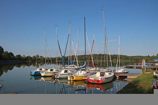 Boats, Lake, Water, Summer, Rest, Reflection