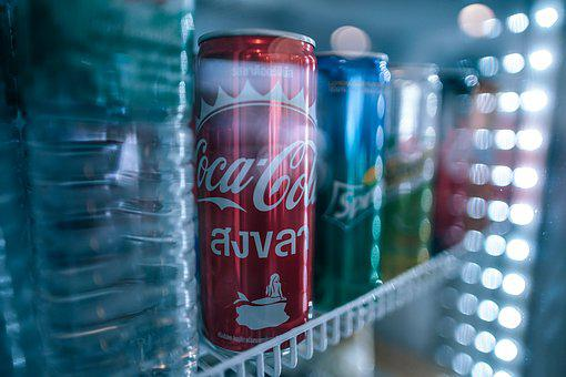 Cola, Beverage, Brand, Can, Carbonated, Coke, Cool