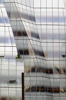 Glass Facade, Architecture, Modern, Building