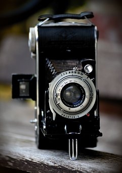 Camera, Billy Record, Agfa, Old Camera, Nostalgia