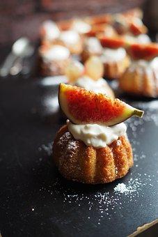 Cake, Fig, Bake, Bakery, Cupcake, Candy