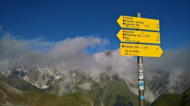 Alpine, E5, Directory, Mountains, Landscape, Clouds