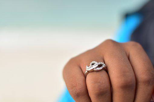 Ring, Hand, Woman, Engagement, Love, Couples