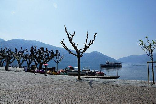 Ascona, Film, Festival, Lake, Lago Maggiore, Water