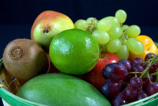 Fruit, Fruit Basket, Healthy, Vitamins, Fruits, Fresh