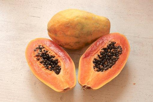 Papaya, Fruit, Summer, Juicy, Nutrition, Dessert, Fresh