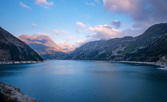 Lake, Glacial Lake, Reservoir, High-mountain Reservoir