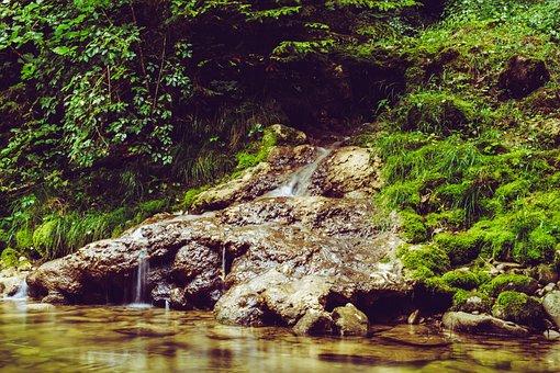 Eistobel, Isny, Waterfall, Nature, Gem