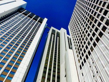 High Rise Building, Korea, City, Bill, Building, Sky