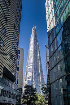 London, The Shard, Architecture, Landmark, Building