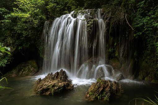 Waterfall, Water, Landscape, Nature, River, Falls
