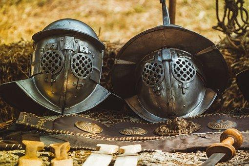 Metal, Headset, War, Man, Military, Mask, Armor