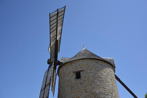 Mill, Wings Of The Moulin, Mill Mont Dol
