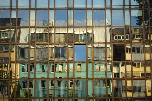 Architecture, Glass Facade, Modern, Building