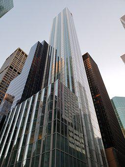 Skyscraper, Offices, Sale, Building, Buildings, Nyc
