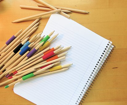Pencil, Paper, Office, Write, Notebook, Notepad