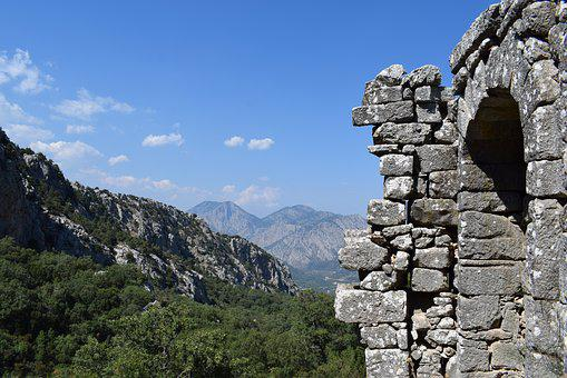 Termessos, Turkey, Old Town, Ancient Times, Nature