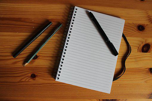 Notebook, Pen, Office, To Write, Paper, Book, Notes