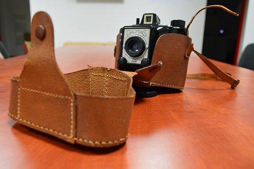 Camera, Old, Retro, Photo, Mate