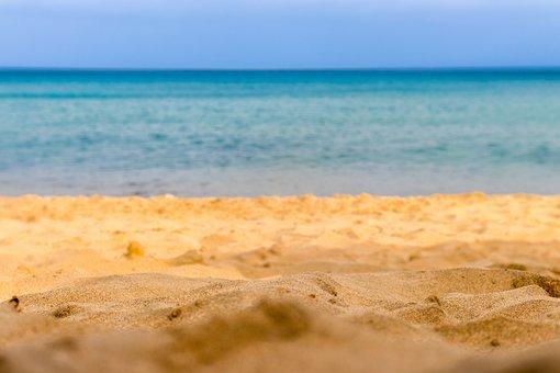 Porto Santo, Sand, Beach, Mar, Water, Blue, Wave, Hdr
