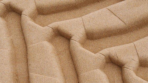 Sand, Traces, Reprint, Structure