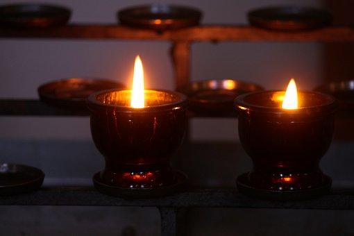 Victim Candles, Memorial Candles, Shining