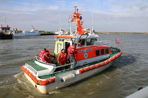 Ship, Boat, Sea, Water, Port, Lake, Dgzrs, Rescue, Fire
