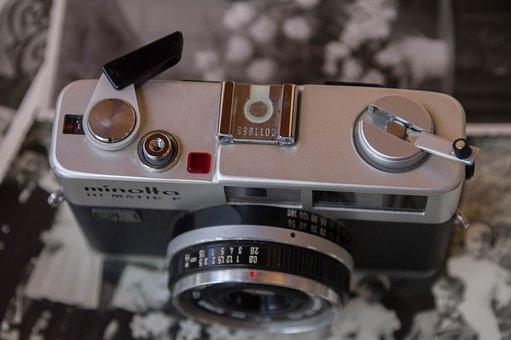 Photography, Camera, Silver, Shots, Old Photos
