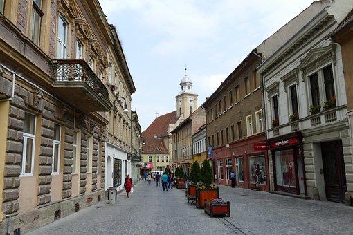 Brasov, Transylvania, Romania, Architecture