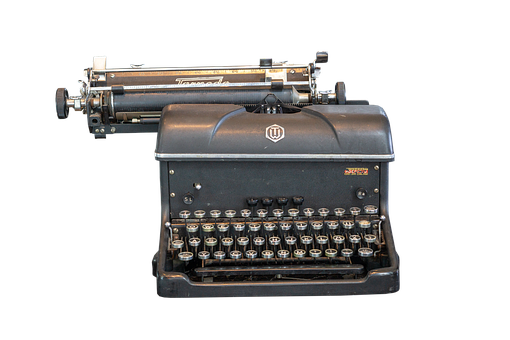 Typewriter, Keys, Keyboard, Write, Office, Antique