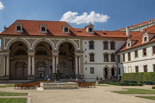 Valdštejnská E G, Valdštejnský Palace, Prague, Czech