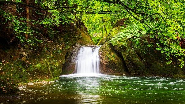 Eistobel, Isny, Allgäu, Waterfall, Water, Nature