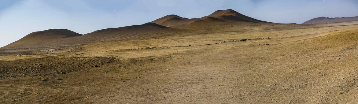 Desert, Sand, Wide, Dry, Dunes, Hot, Drought, Heat