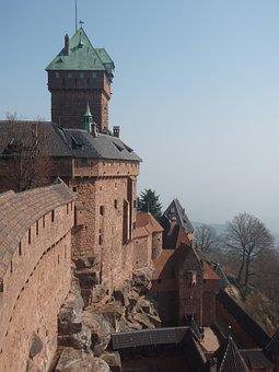 Castle, Alsace, Skin King Castle, Middle Ages