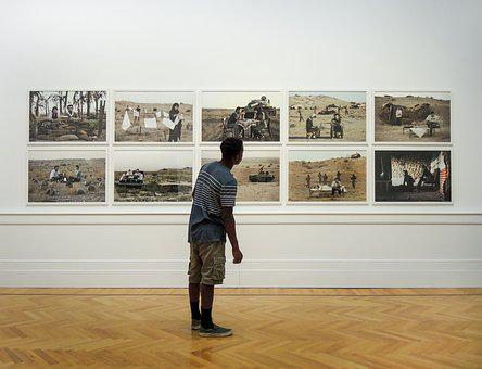 Rome, Modern, Art, Italy, Museum, Exhibition, People