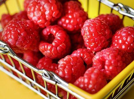 Basket, Berry, Breakfast, Cart, Diet, Food, Fresh