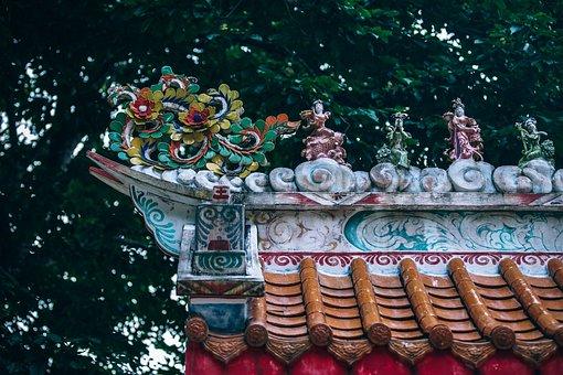 Architecture, Asian, Beautiful, Bright, Buddhism