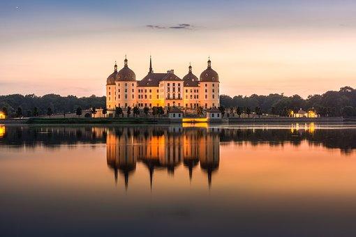 Castle, Moritz Castle, Saxony, Architecture