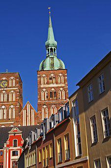 Stralsund, Nikolai Church, Architecture, Church, Facade