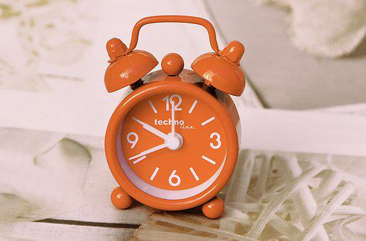 Alarm Clock, Time Of, Clock, Time Indicating, Time