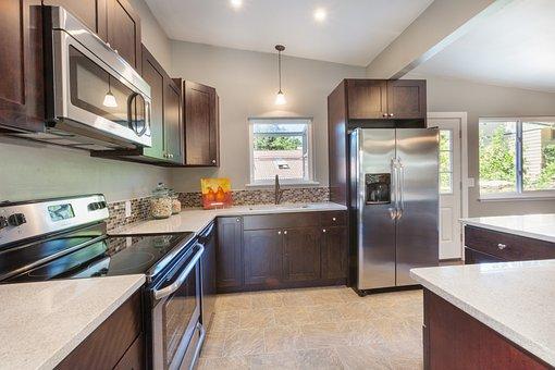 Kitchen, Dark Cabinets, Dark Cabinetry