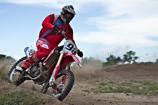 Speed Curve, Motocross, Rider, Dirt Bike, Sport, Helmet