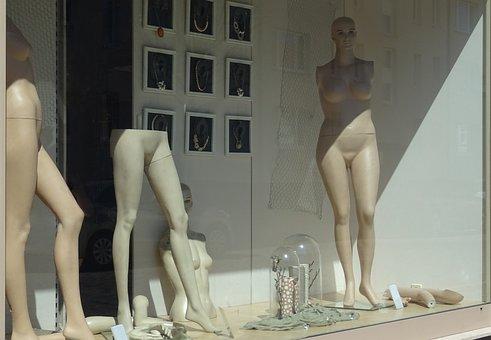 Window, Dolls, Fashion, Display Dummy, Decoration