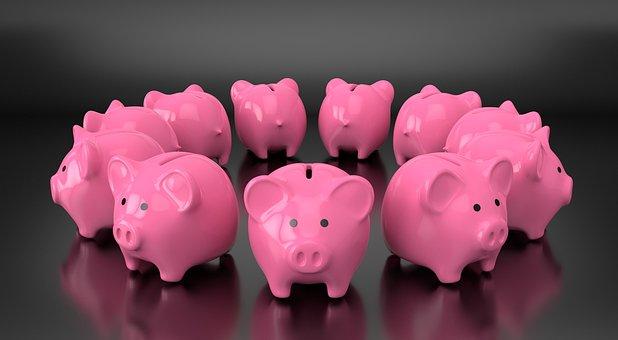 Piggy, Bank, Money, Save, Finance, Financial, Loan