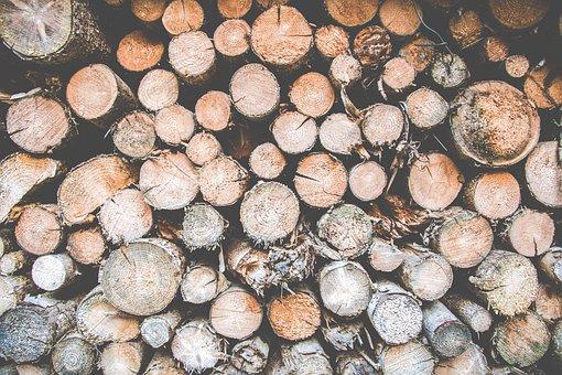 Wood, Logs, Firewood, Block, Winter, Hot, Campfire