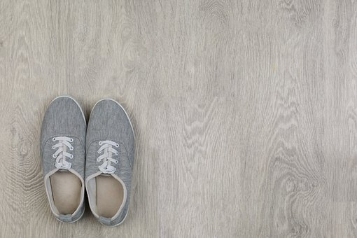 Concept, Floor, Shoe, New, Journey, Pair, Two, Summer
