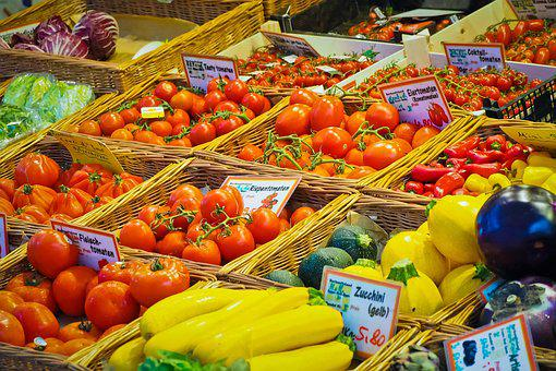 Fruit, Vegetables, Food, Healthy, Fresh, Nutrition, Bio
