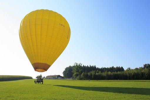 Balloon, Gas Tight Envelope, Gas Filled, Filling Gas