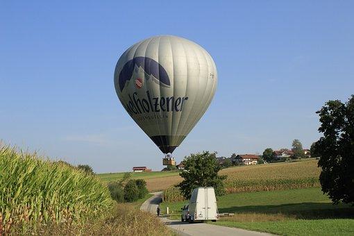 Balloon, Landing, Gas Tight Envelope, Gas Filled